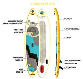 Hala Carbon Playa 10'11""