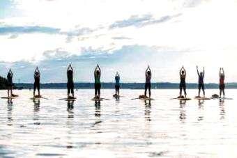 SOL Paddle: SUP Yoga