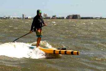 Walk on Water SUP Co: Downwind Paddleboarding!!