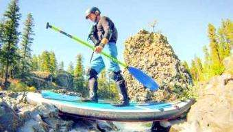 TotalSUP: Meet Paul Clark the SUP River Adventurer