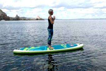 red paddle co: Stretch Your Body and Mind With SUP Yoga