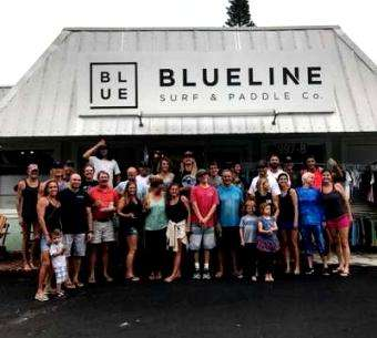 SUP Examiner: Blueline Surf and Paddle Co. – Shop Guide