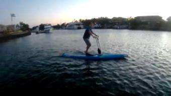 SUP World Mag: Hobie SUP Pedal Power – Next Way to Cruise Around?