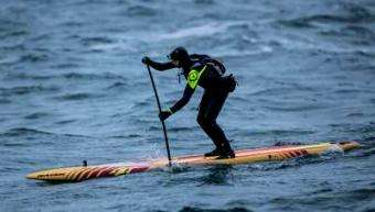 SUP Magazine: Casper Steinfath Completes First SUP Crossing from Denmark to Norway