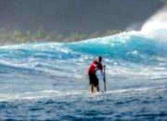 SUP World Mag: Standup Paddleboarding SUP Freestyle Training in Lake Motosu Japan