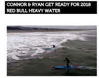 SUP International: Connor & Ryan get ready for 2018 Red Bull Heavy Water