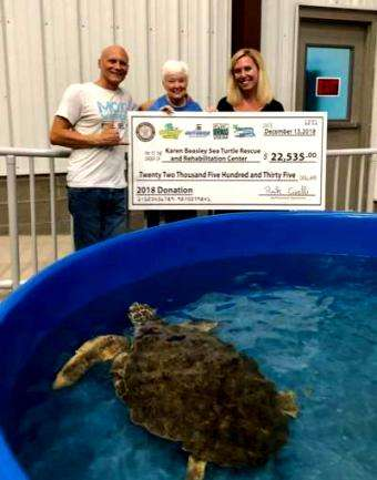 Distressed Mullet: Thank You WB Surf Camp for You Donation to the Karen Beasley Sea Turtle Hospital