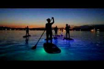 SUP International: Sup Glow Night Tour in Pula