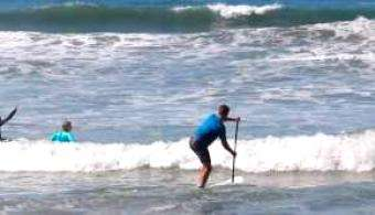 SUP World Mag: One Morning SUP Surf Session With Colin and Chase