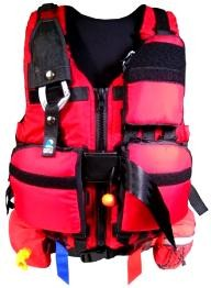 North-Water Pro System Detachable Pockets Rescue PFD