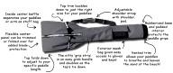 danuu Adjustable Paddle Bag