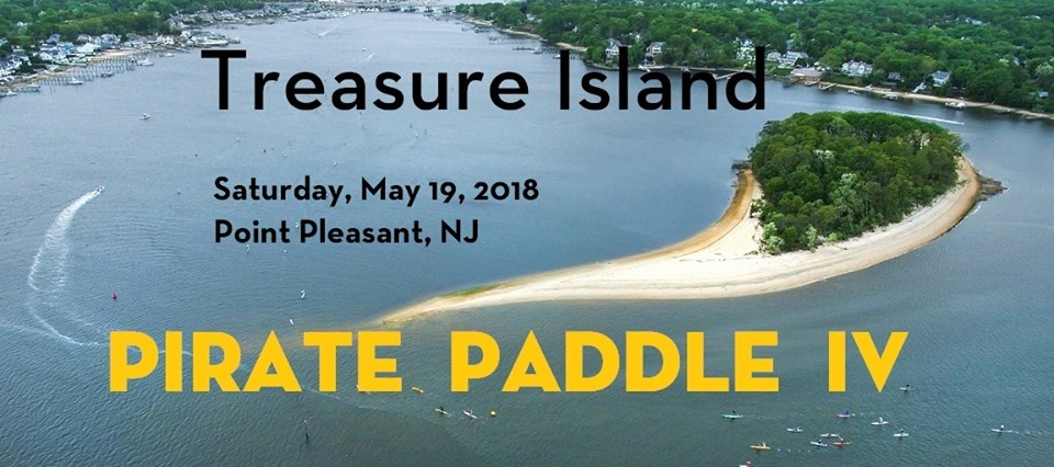 Treasure Island Pirate Paddle IV
