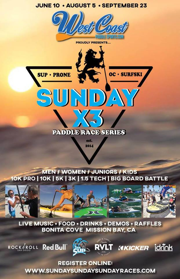 Sunday X3 Paddle Race Series #3