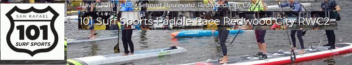 101 Surf Sports Paddle Race Redwood City - 2