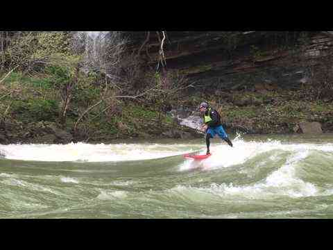 Video: MikeTavares: East Coast Whitewater SUP - Mike Tavares - Badfish SUP