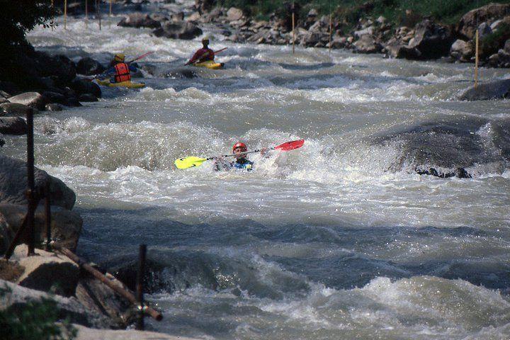 Italy - Noce River - Mezzana - Kayaka Mountain Bat - 1992