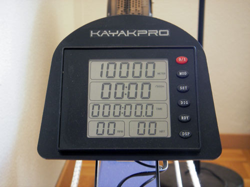kayakpro speedstroke gym monitor