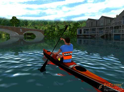 kayakpro speedstroke gym virtuarace software