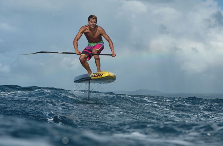 Naish puts hydrofoil SUP on the market