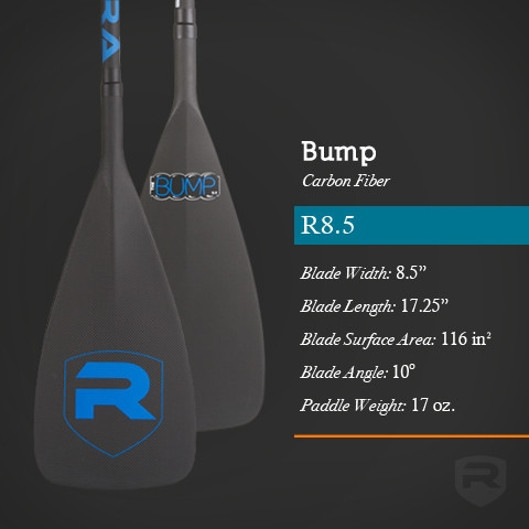 Bump R8.5 Carbon Fiber SUP Paddle - _bump-grandenxt-1396625439
