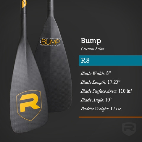 Bump R8 Carbon Fiber SUP Paddle - _bump-1396625016