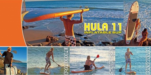Hula 11 Inflatable SUP - 8689_SNAG1308_1296640061