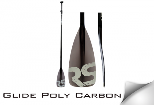 Glide Poly Carbon SUP Paddle - _glidepolycarbonravesup1-1388217536