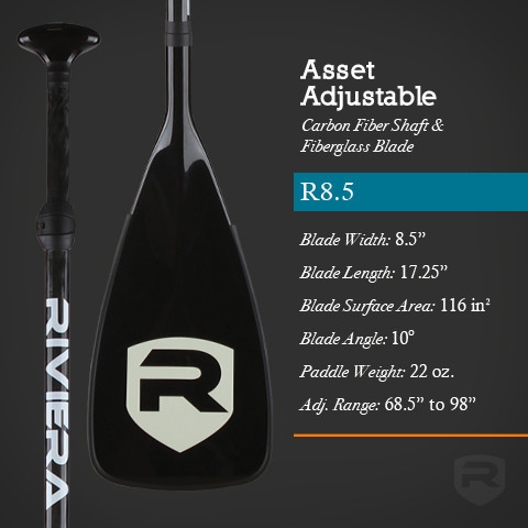 Asset Adjustable R8.5 - Carbon Fiber SUP Paddle - _assetadjustable-riviera-1396693715