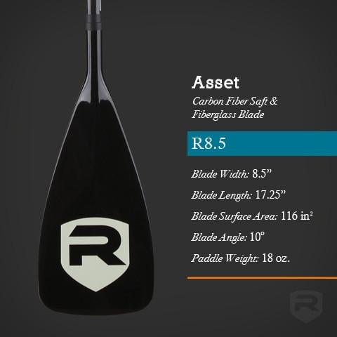 Asset R8.5 Carbon Fiber SUP Paddle - _assetcarbonr-1396692511