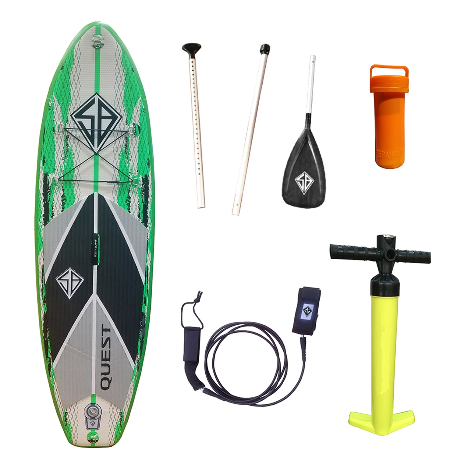"""SB Quest Inflatable SUP 8'0"""""""