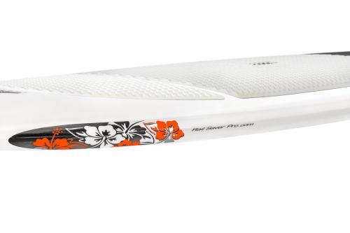 Hibiscus RSPRO SUP rail savers - _hibiscus-fluor-orange-rail-saver-pro-board-1393582249