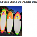 """Carbon Fiber Stand Up Paddle Board 8'0"""""""