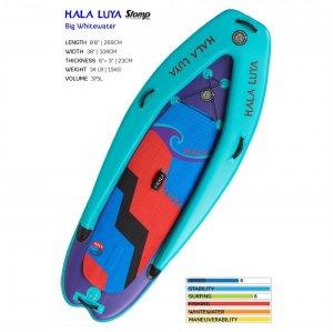 """Luya Big Whitewater Inflatable 8'8"""""""