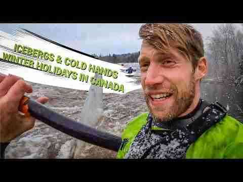 Icebergs & cold hands- Winter holidays in Canada: Nick Troutman Vlog