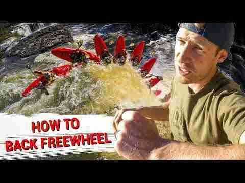 How to Back Freewheel- Nick's How to Kayak Tips & Tricks