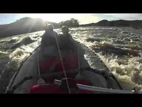 BIG WATER RUN ON THE VAAL