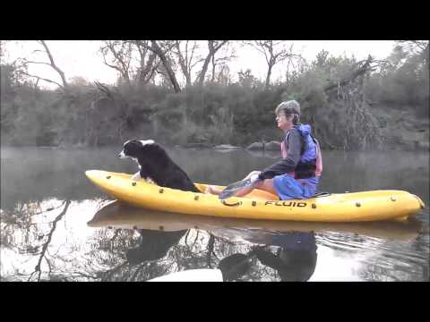 CANOEING THE VAAL AT DAWN