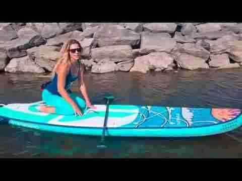 Urban Ocean SUP Starting on a SUP