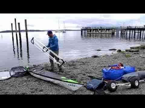 Race To Alaska with a TRAK kayak