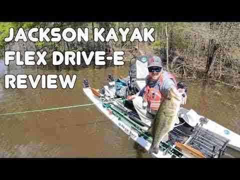 Jackson Kayak Flex Drive-E Review - kayak fishing with a motor