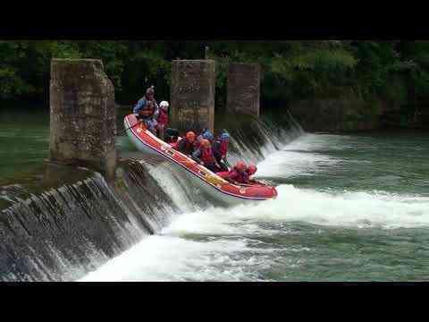 Rafting por el Irati