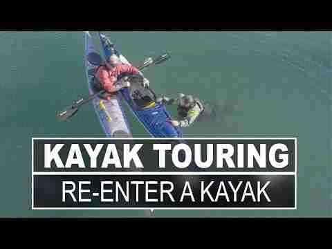 Kayak Touring | How to Re Enter a Sit Inside Touring Kayak