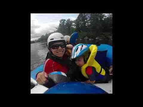 Rafting Familliale Time Lapse