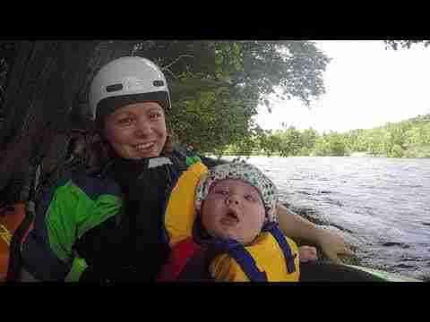 Toute la famille en kayak